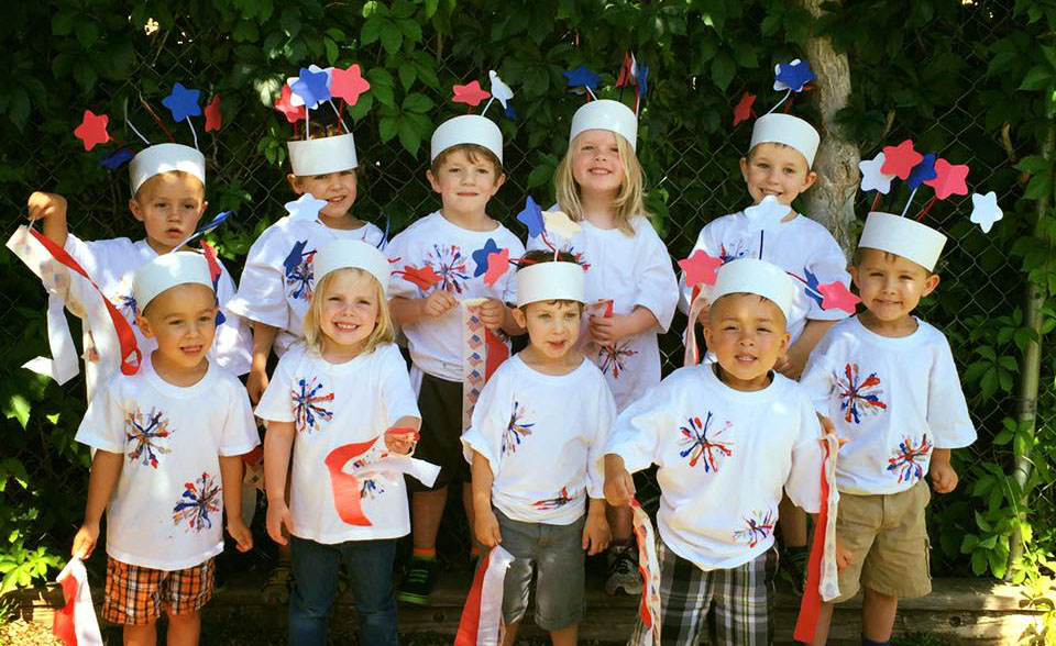 happy children out in the sun at a Preschool & Daycare Serving Albuquerque NM