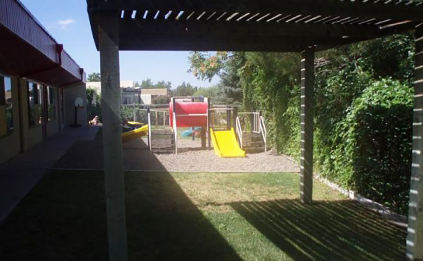 outdoor playground at a Preschool & Daycare Serving Albuquerque NM
